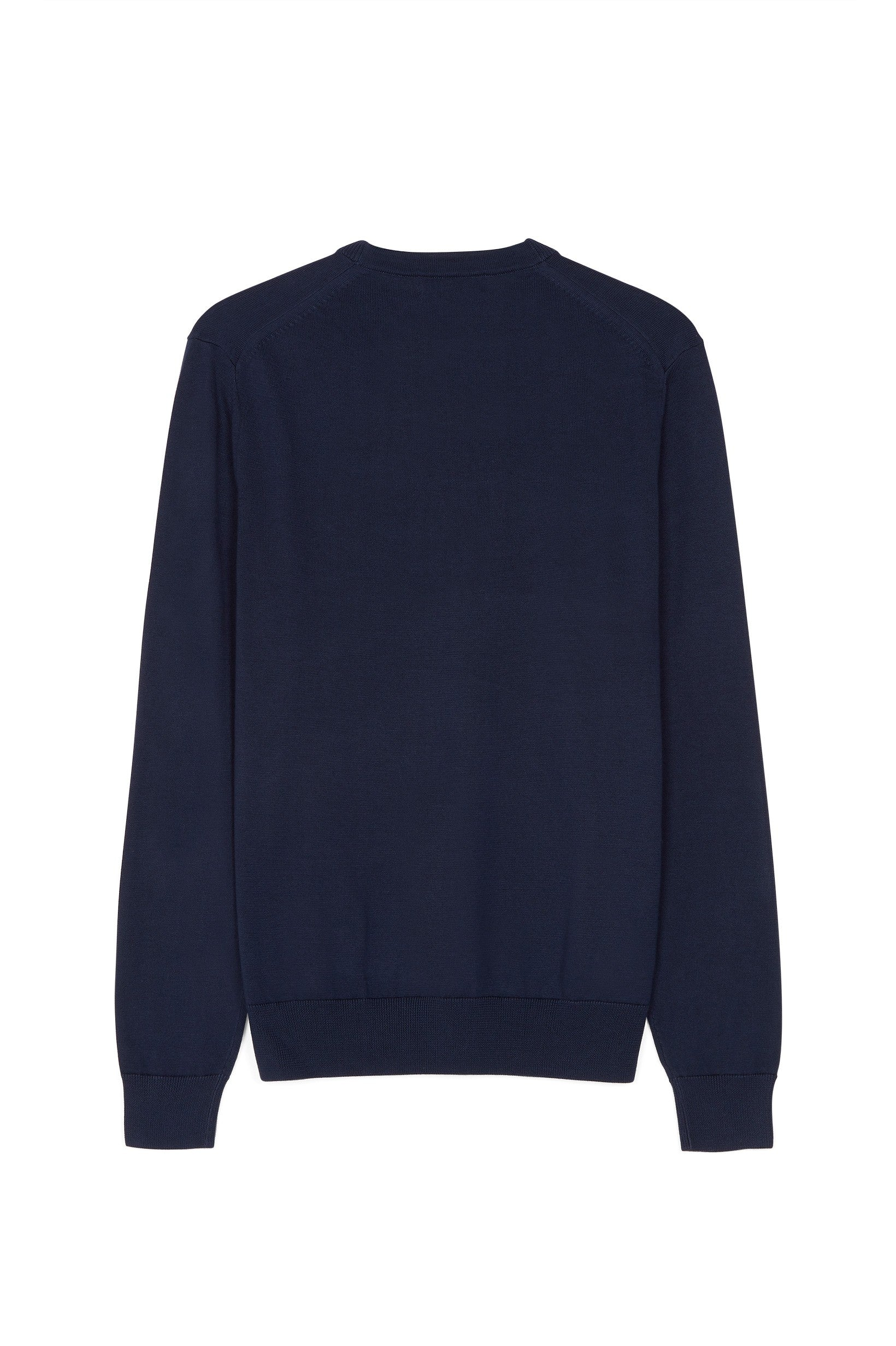 Fred Perry Classic Cotton Crew Neck Navy