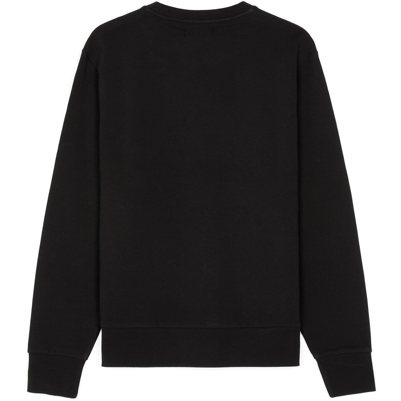 Fred Perry Tonal Embroidered Sweat Black