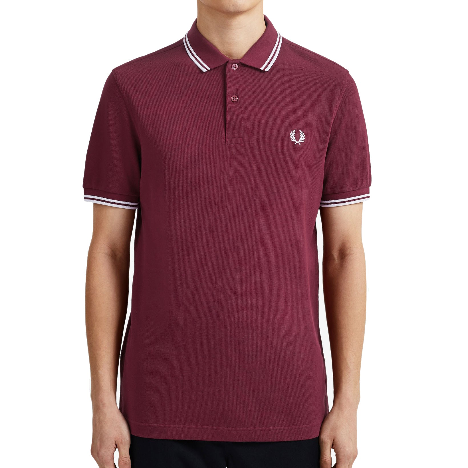 Fred Perry Polo Bordeaux M3600