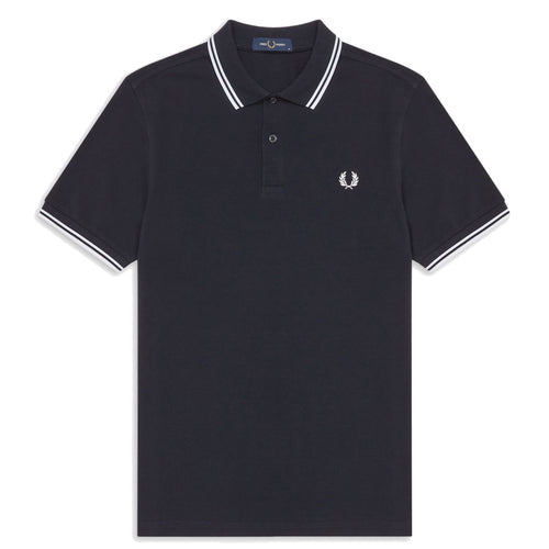 Fred Perry Polo Navy/White M3600