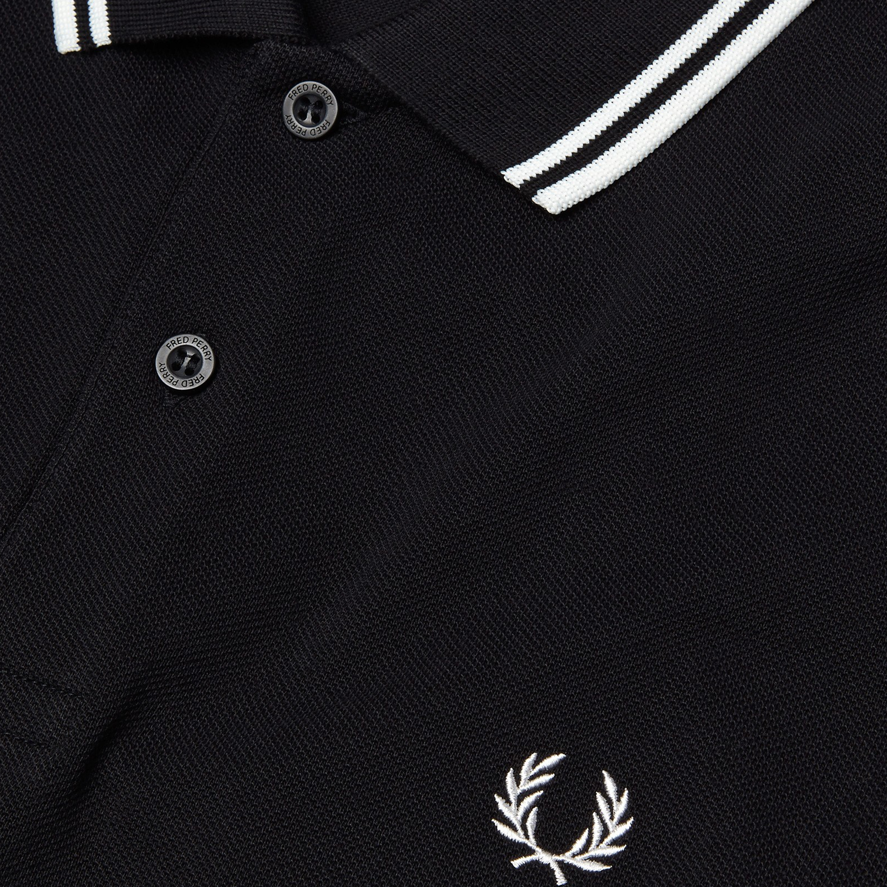 Fred Perry Polo Black/Porzellan M3600