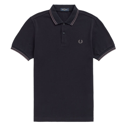 Fred Perry Polo Navy/Gunmetal M3600