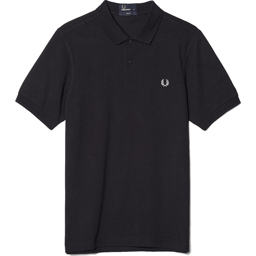 Fred Perry Polo Navy & White M6000