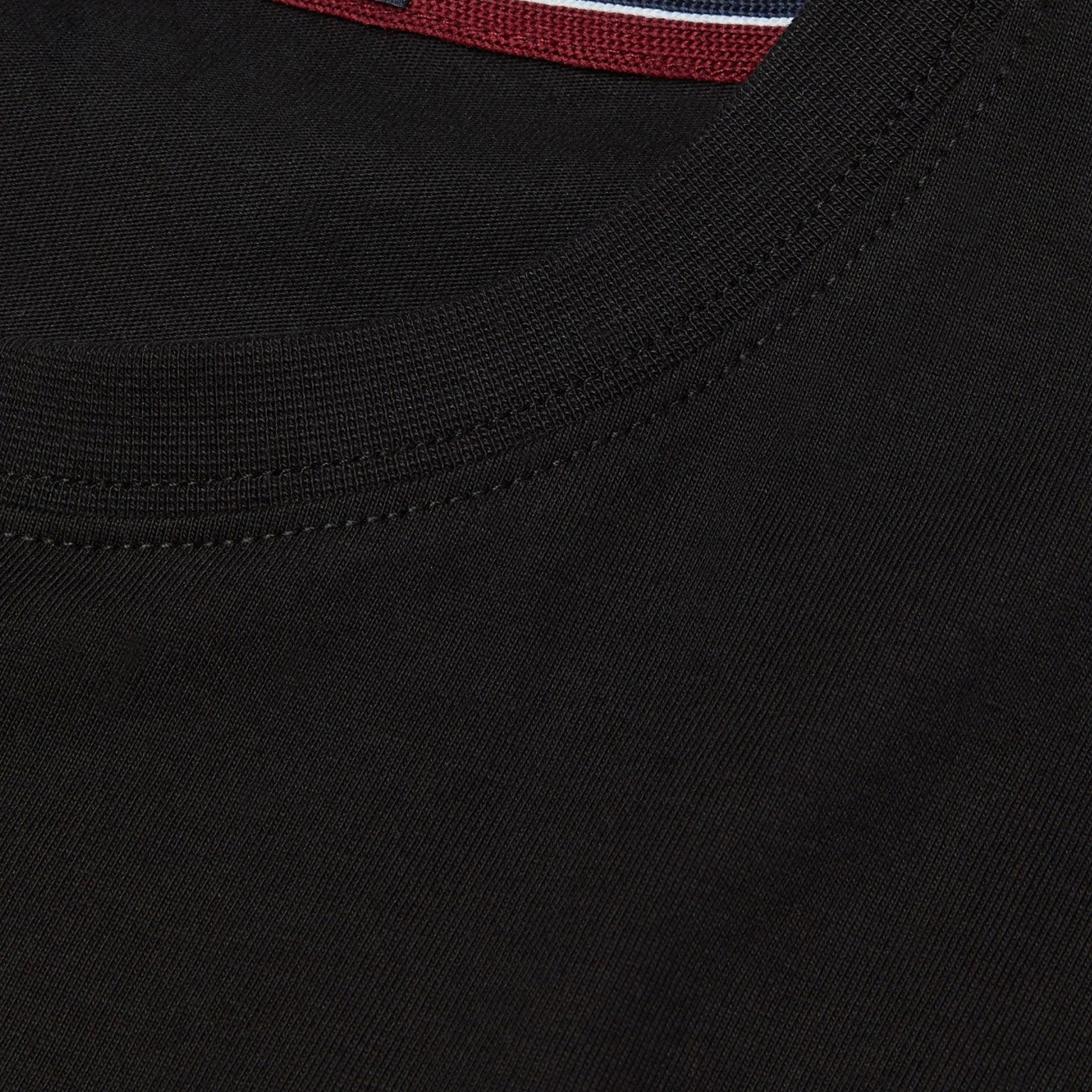 Fred Perry Crew Neck T-Shirt Black