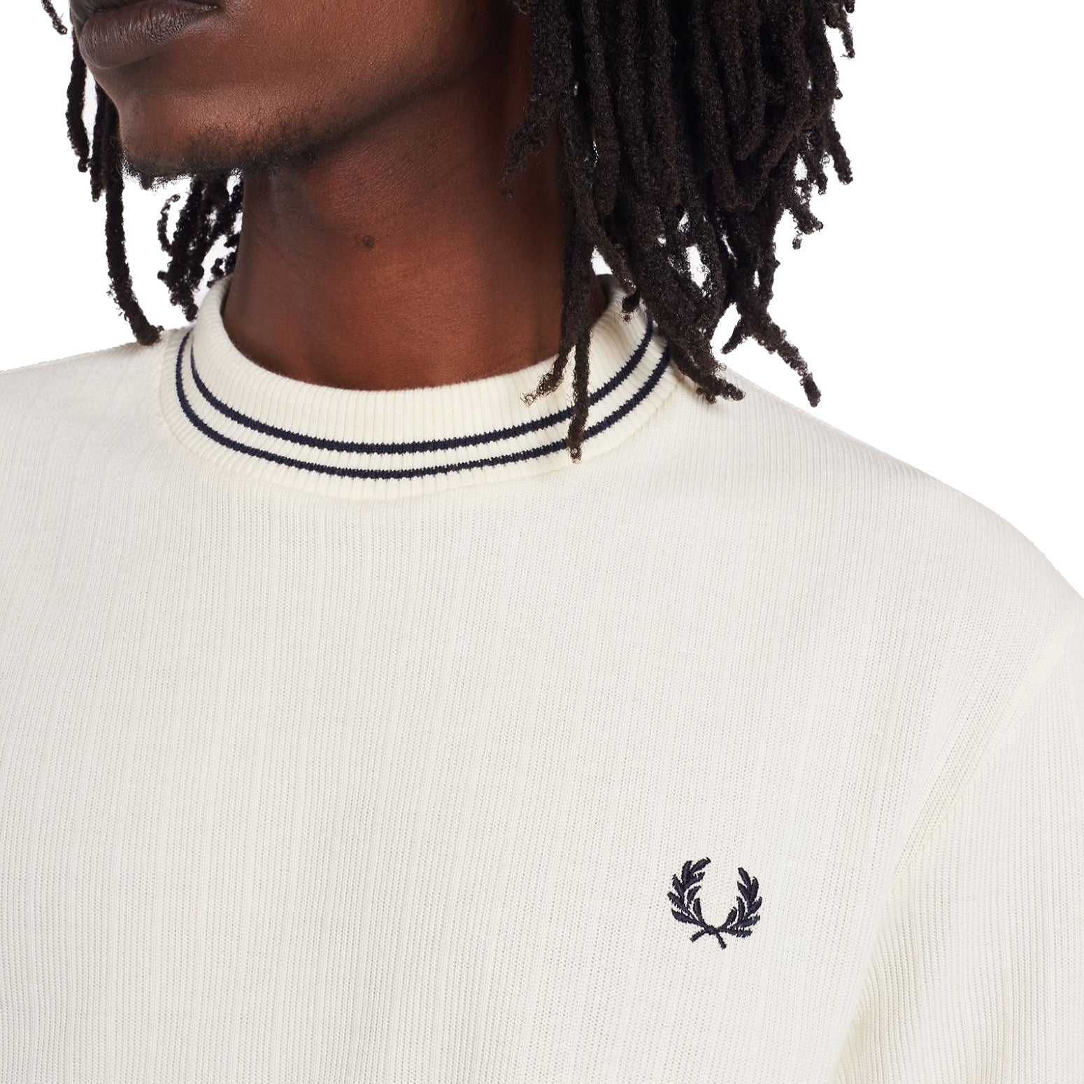 Fred Perry Reissues Piqué T-Shirt, Ecru