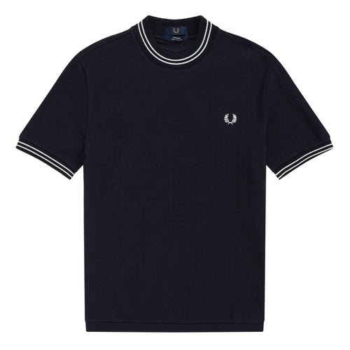 Fred Perry Reissues Piqué T-Shirt, Navy