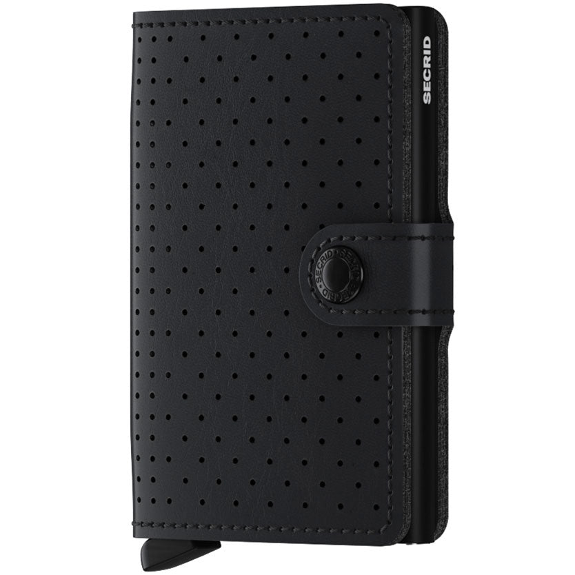 Secrid Miniwallet Perforated, Black