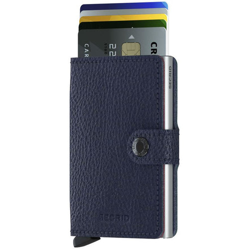Secrid Miniwallet Vegan Tanned, Navy