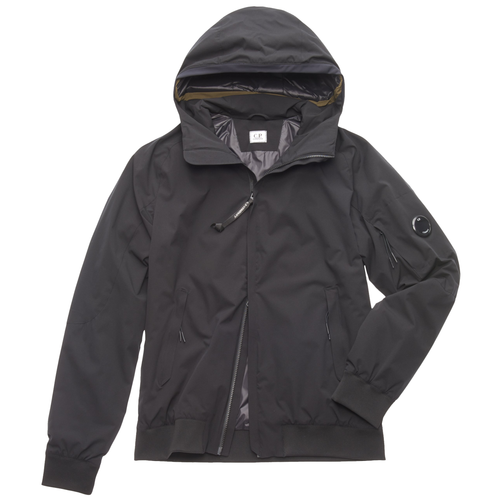 C.P. Company Pro-Tek Hooded Lens Jacket, Black
