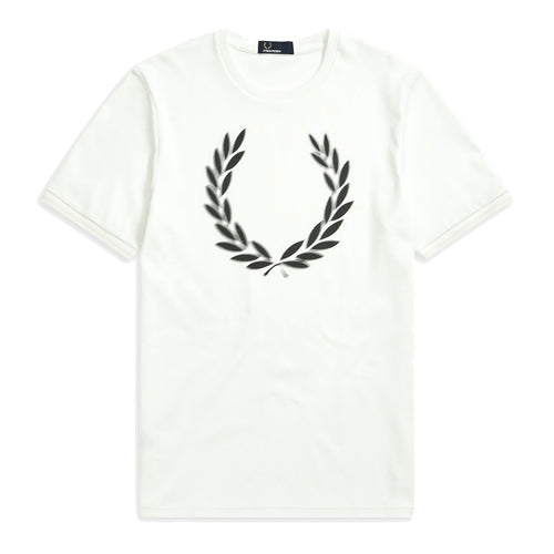 Fred Perry Laurel Wreath T-Shirt, Weiss