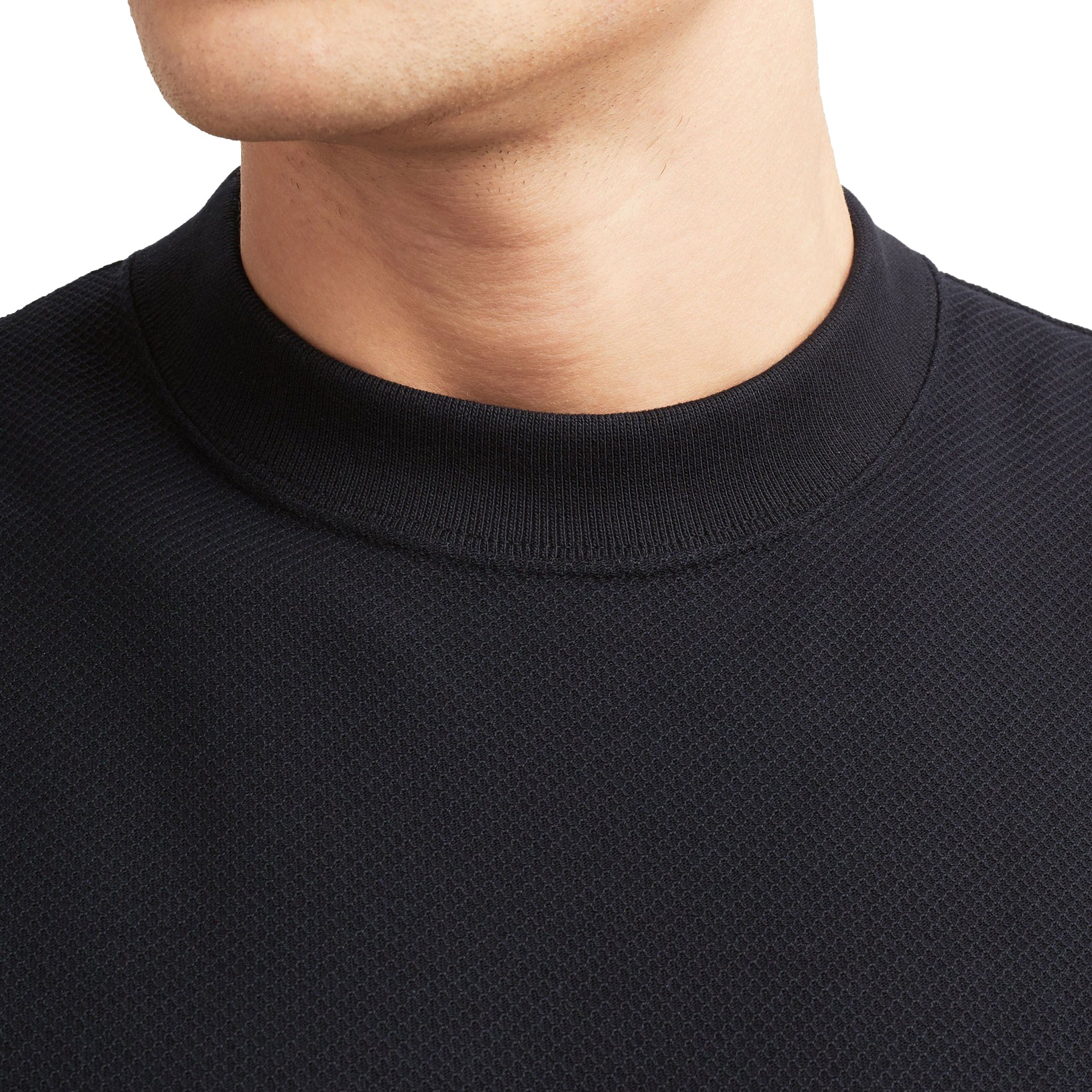 Fred Perry Piqué T-Shirt Black