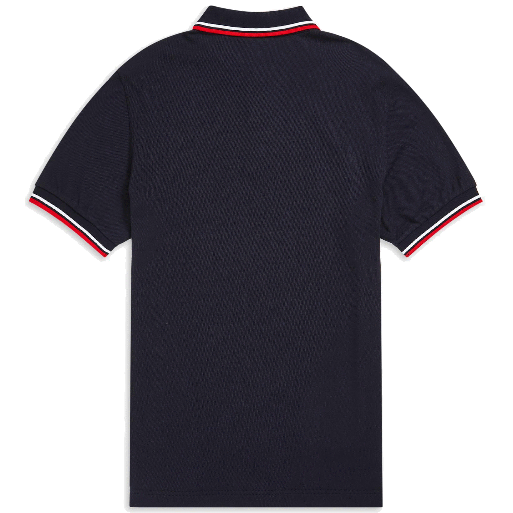Fred Perry Polo Navy, Weiss & Rot M3600
