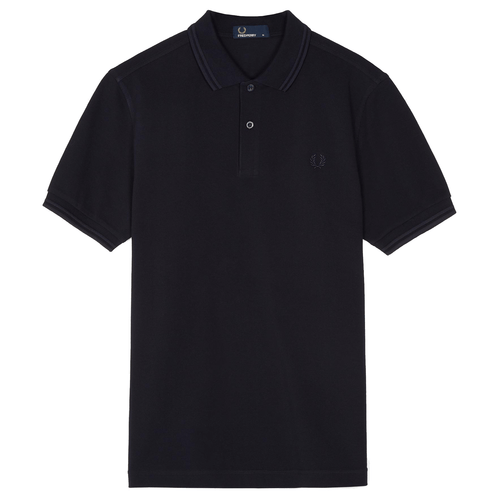 Fred Perry Polo Navy & Navy M3600