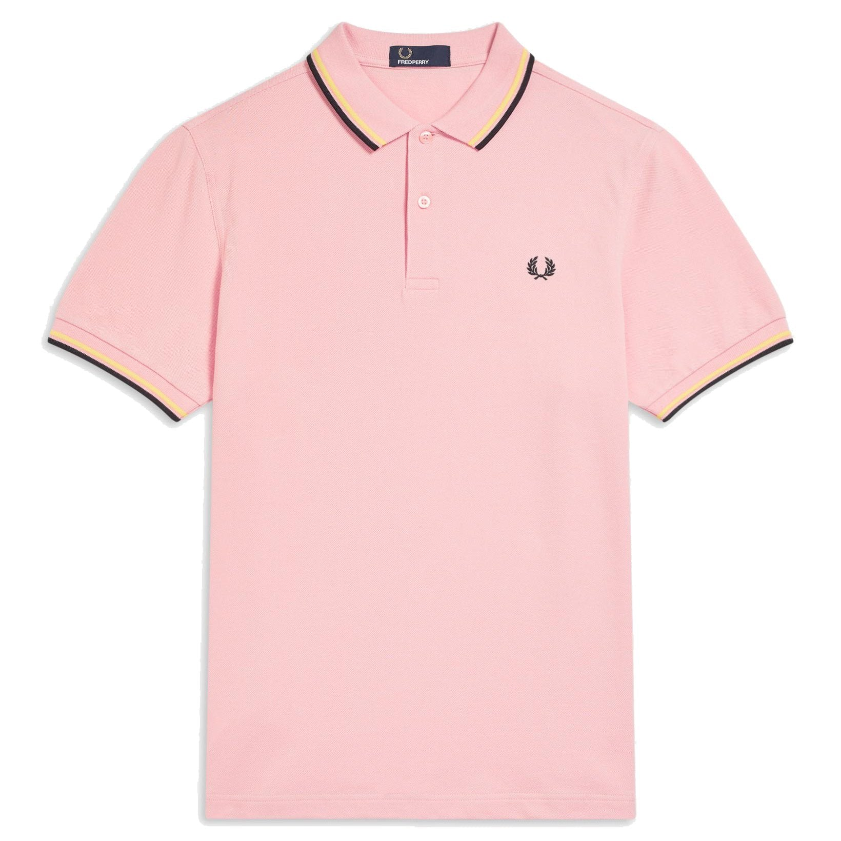 Fred Perry Polo, Rose, Yellow & Black