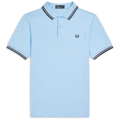 Fred Perry Polo, Sommer Blau