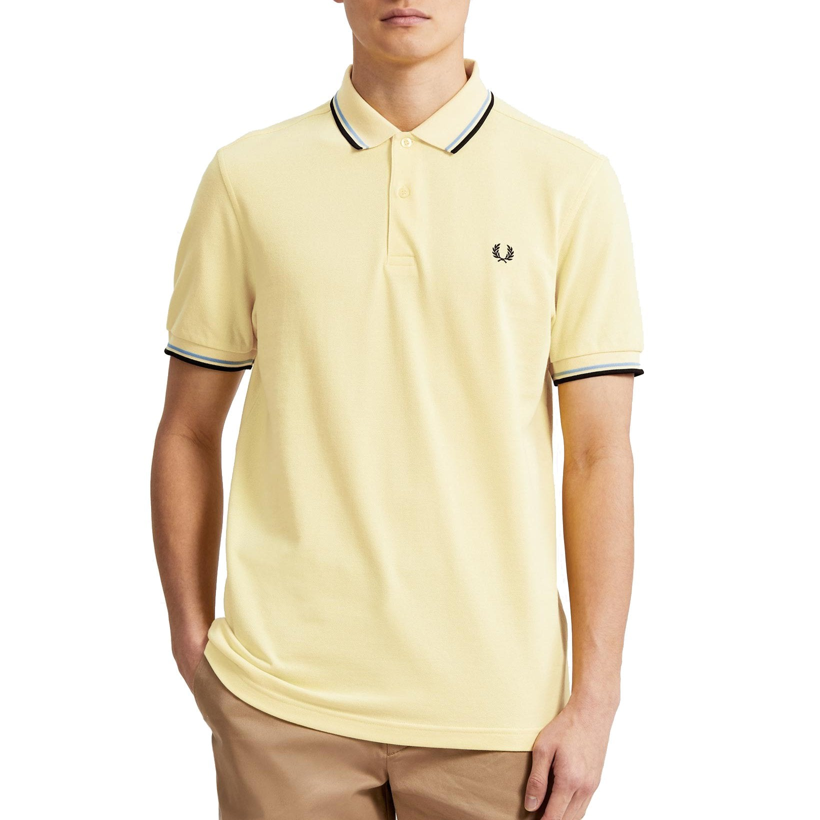 Fred Perry Polo, Sommer Gelb