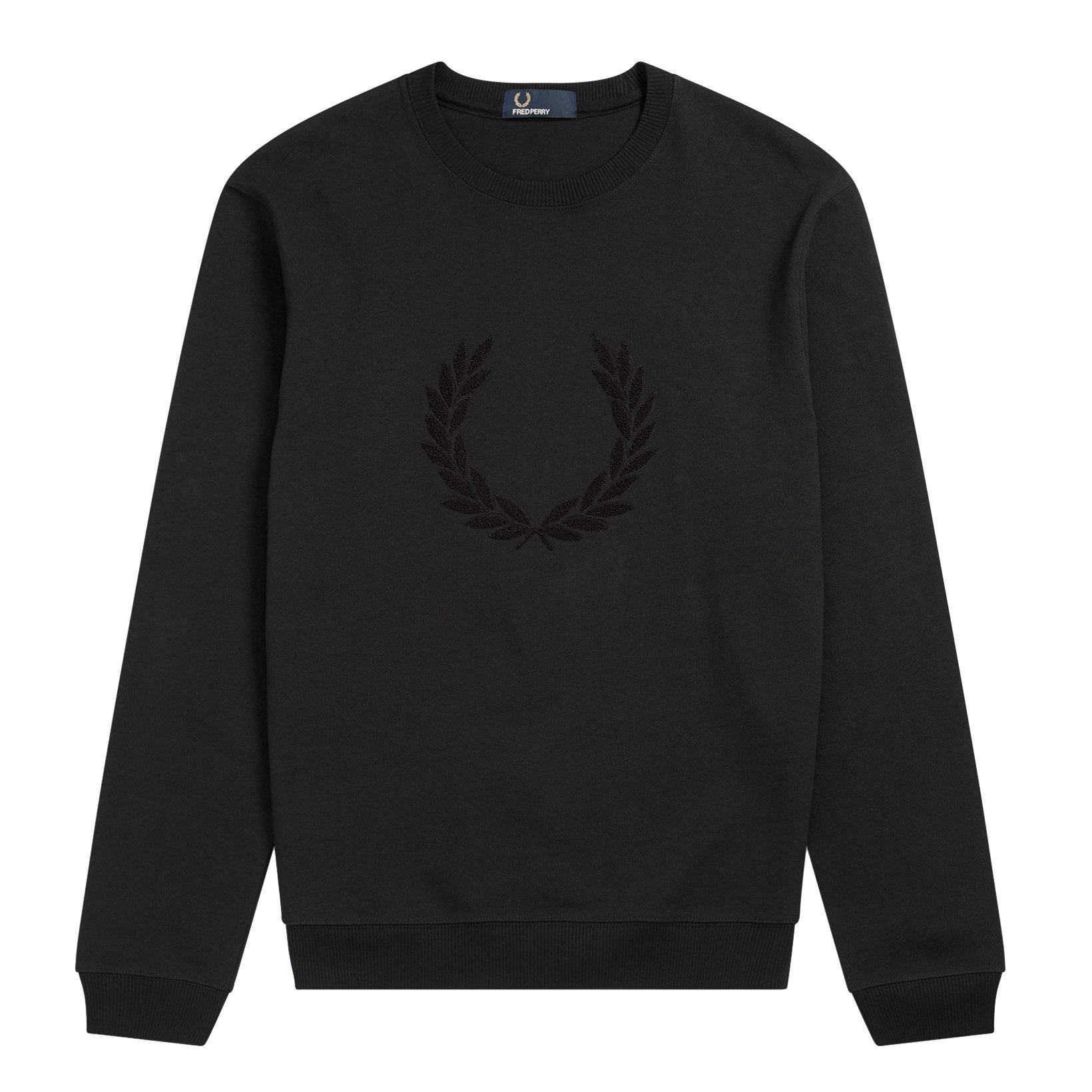 Fred Perry Sweatshirt mit Laurel Wreath