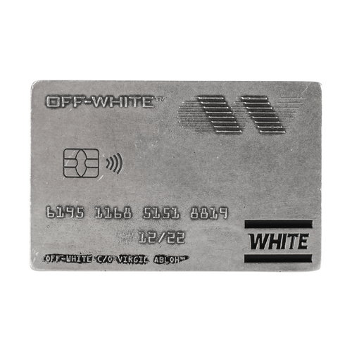 Off-White Card Money Clip