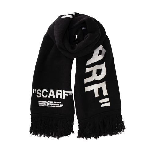 Off-White Scarf, Black