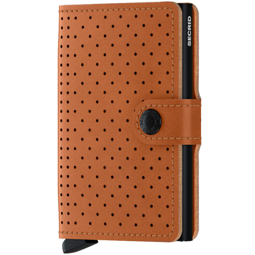 Secrid Miniwallet Perforated, Coganac