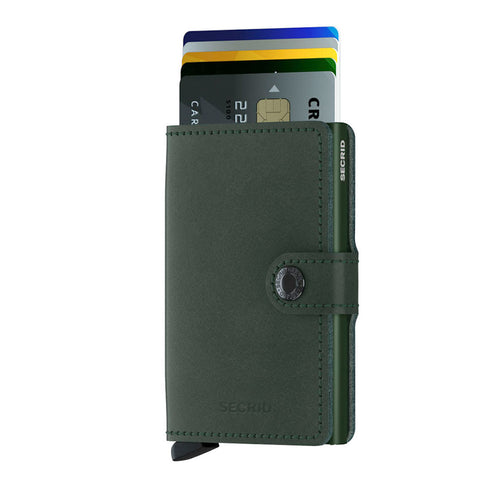 Secrid Miniwallet Original, Green