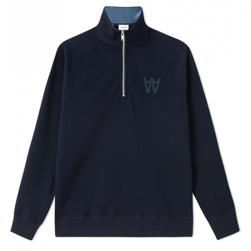 Wood Wood Curtis Sweatshirt, Navy