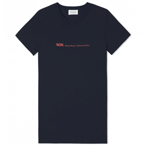 Wood Wood Eden T-Shirt, Navy