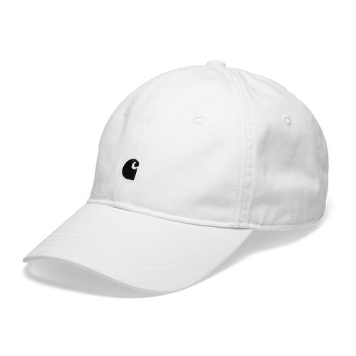Carhartt WIP Madison Logo Cap White & Black