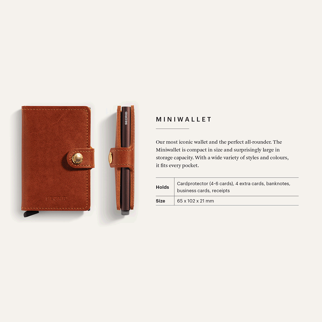 Secrid Miniwallet Dutch Martin, Whiskey