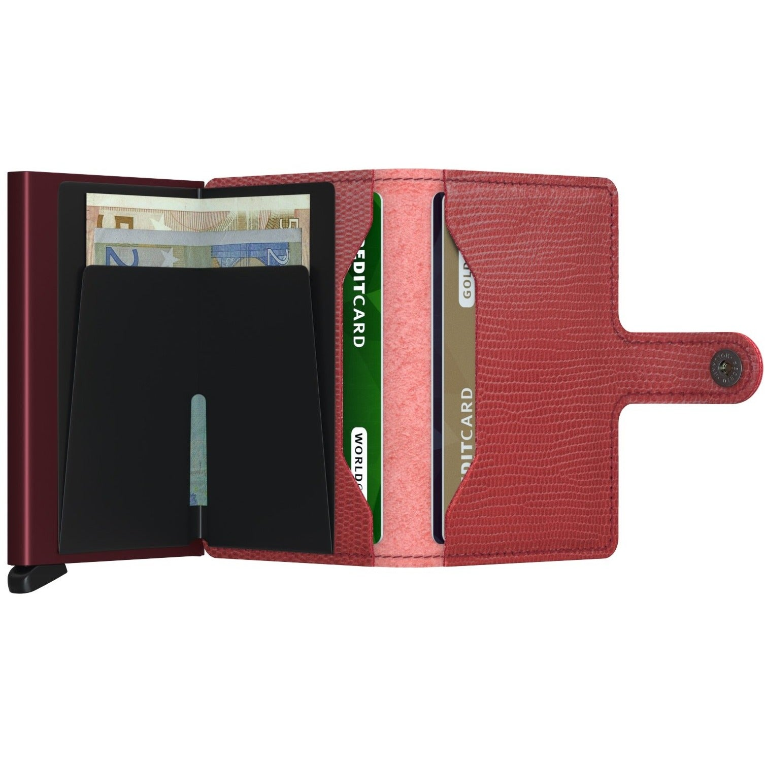 Secrid Miniwallet, Rango Red & Bordeaux