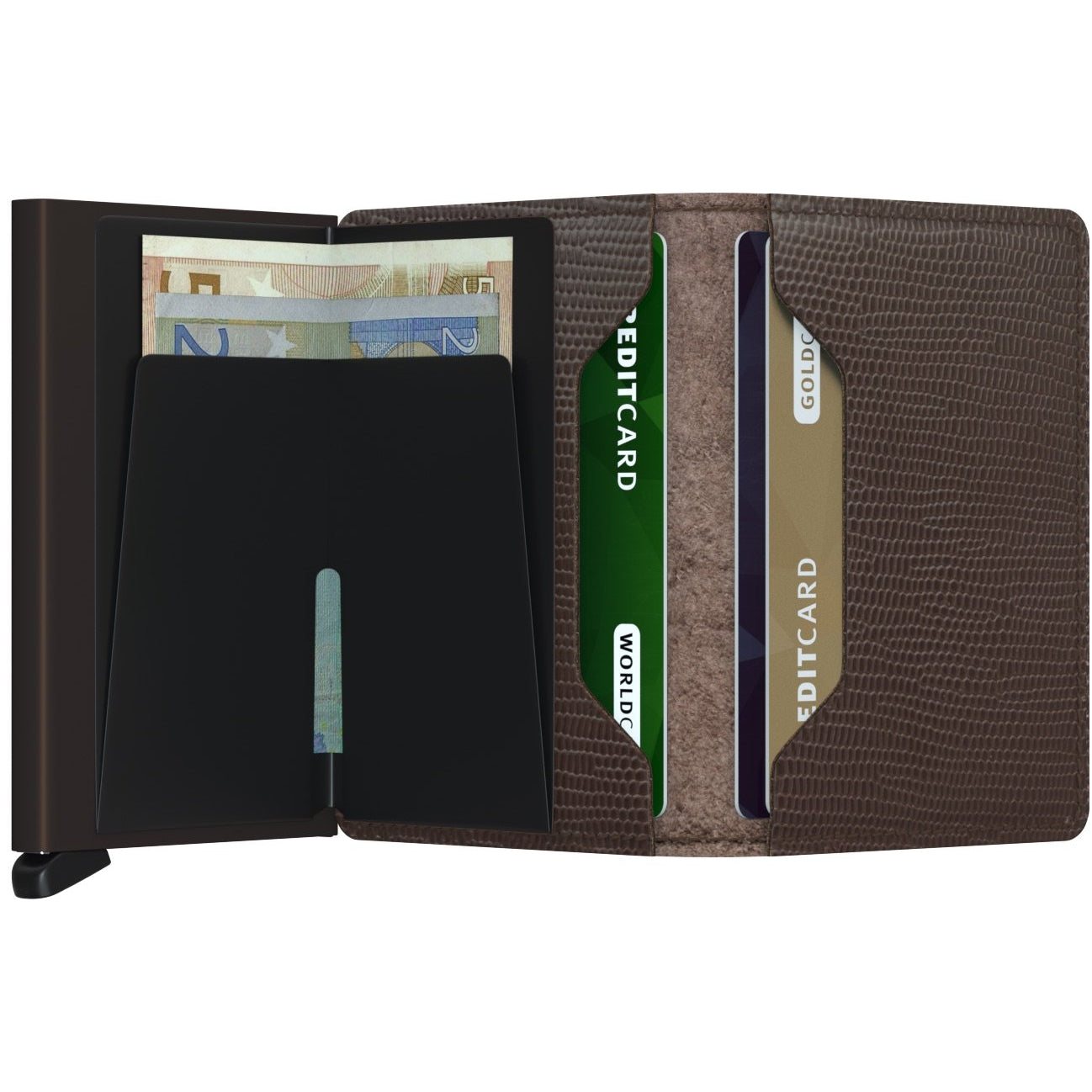 Secrid Slimwallet, Rango Brown & Brown