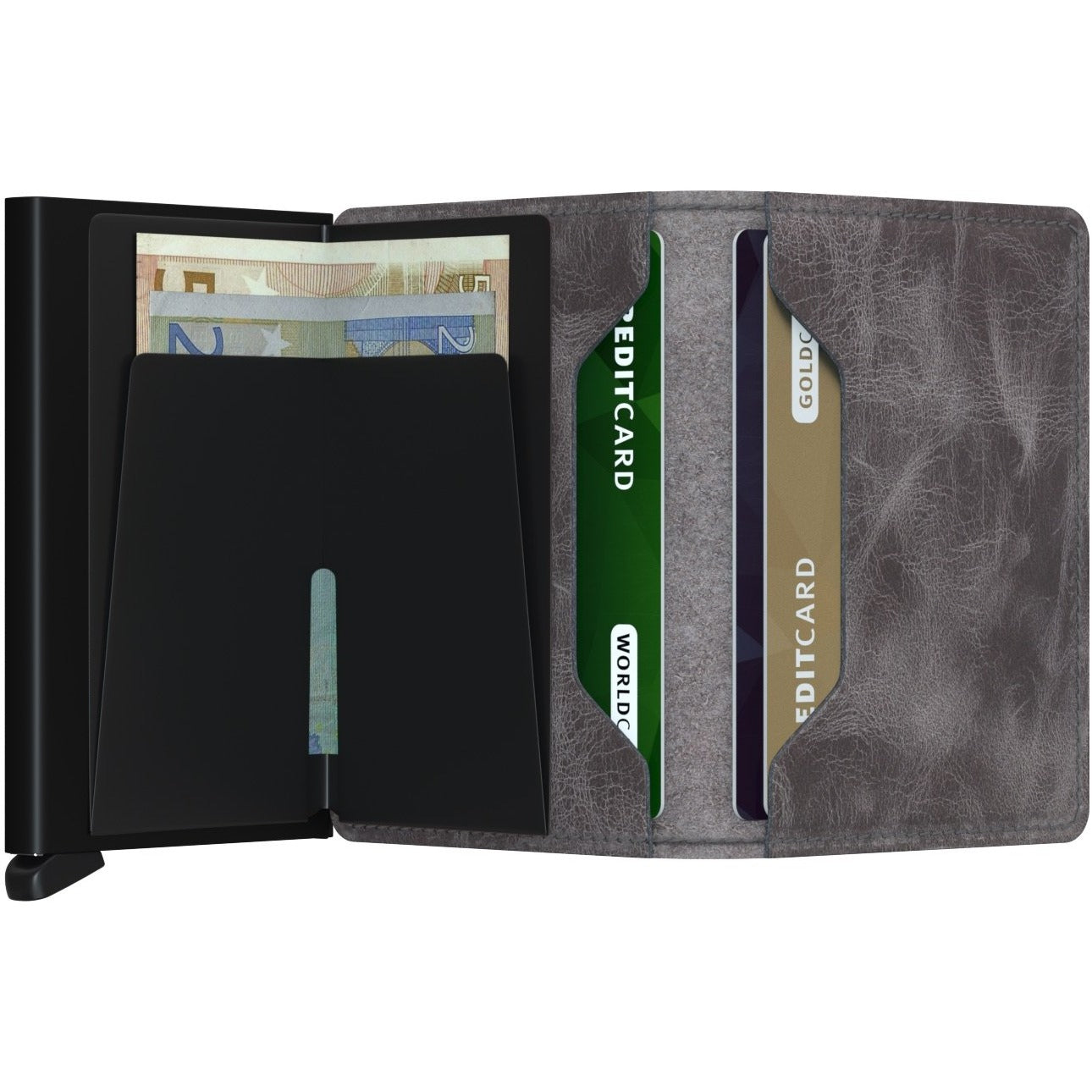 Secrid Slimwallet, Vintage Grey & Black