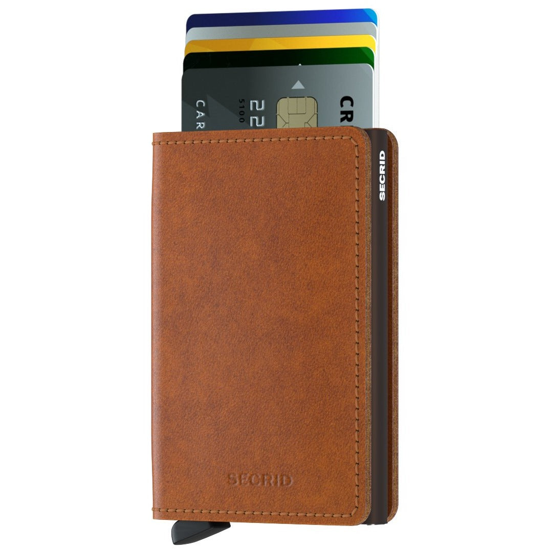Secrid Slimwallet Original Cognac & Brown