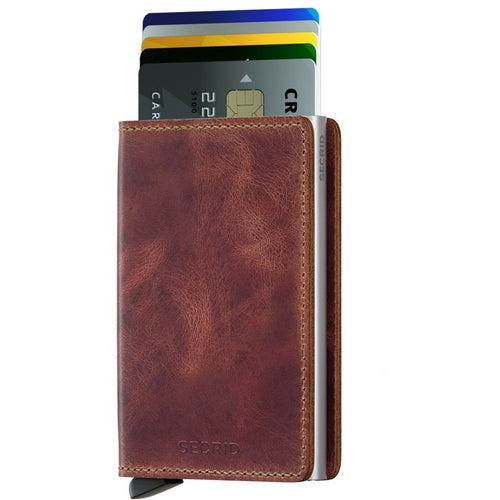 Secrid Slimwallet, Vintage Brown