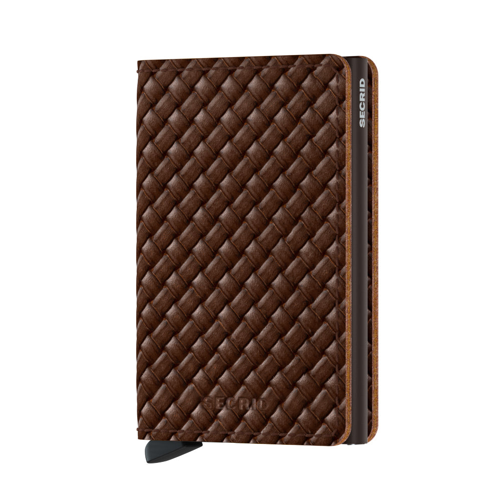 Secrid Slimwallet Basket, Brown