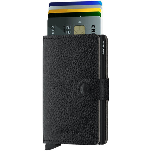 Secrid Miniwallet Vegan Tanned, Black