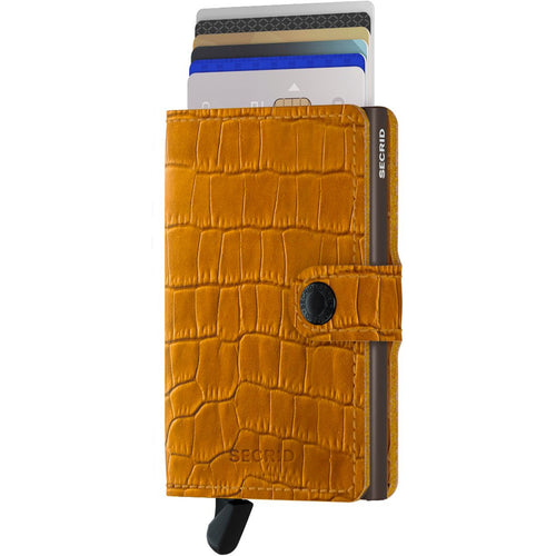 Secrid Miniwallet Cleo, Ochre & Brown