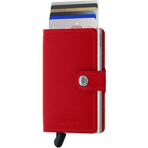 Secrid Miniwallet Crisple, Red