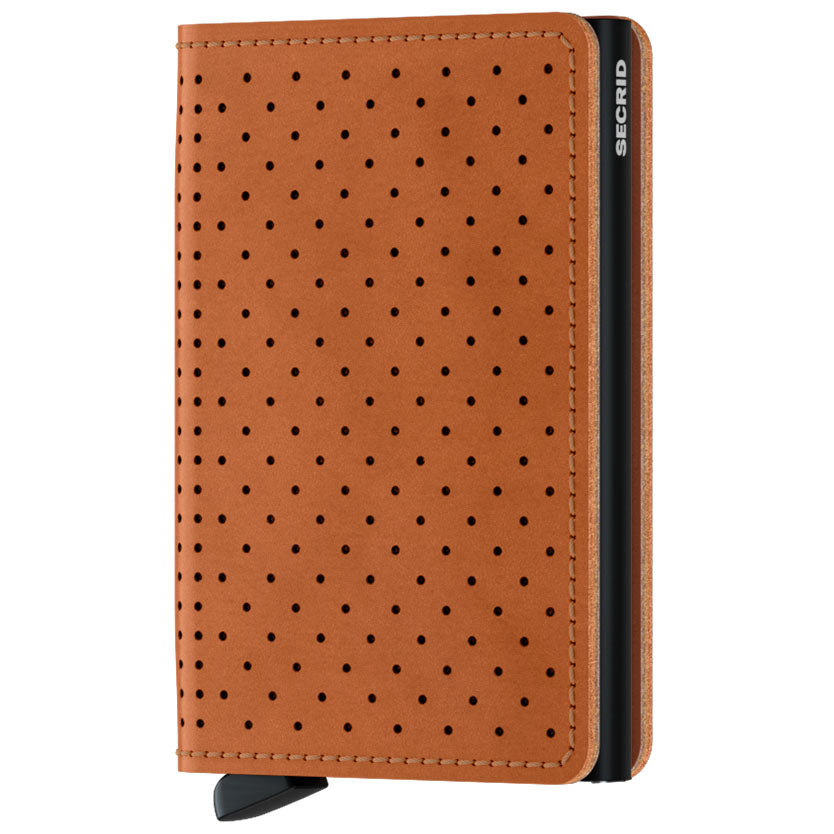 Secrid Slimwallet Perforated, Coganac