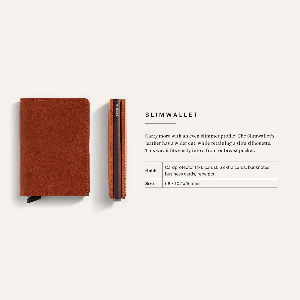 Secrid Slimwallet, Dutch Martin Whiskey