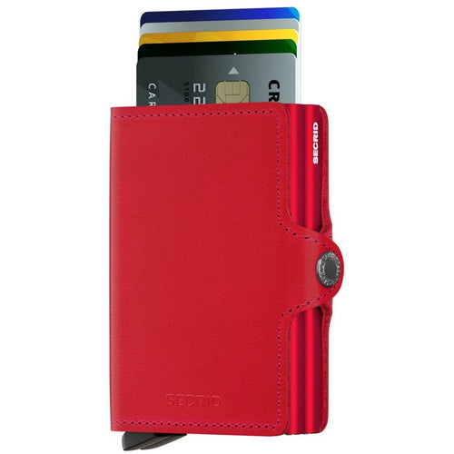 Secrid Twinwallet, Original Red & Red