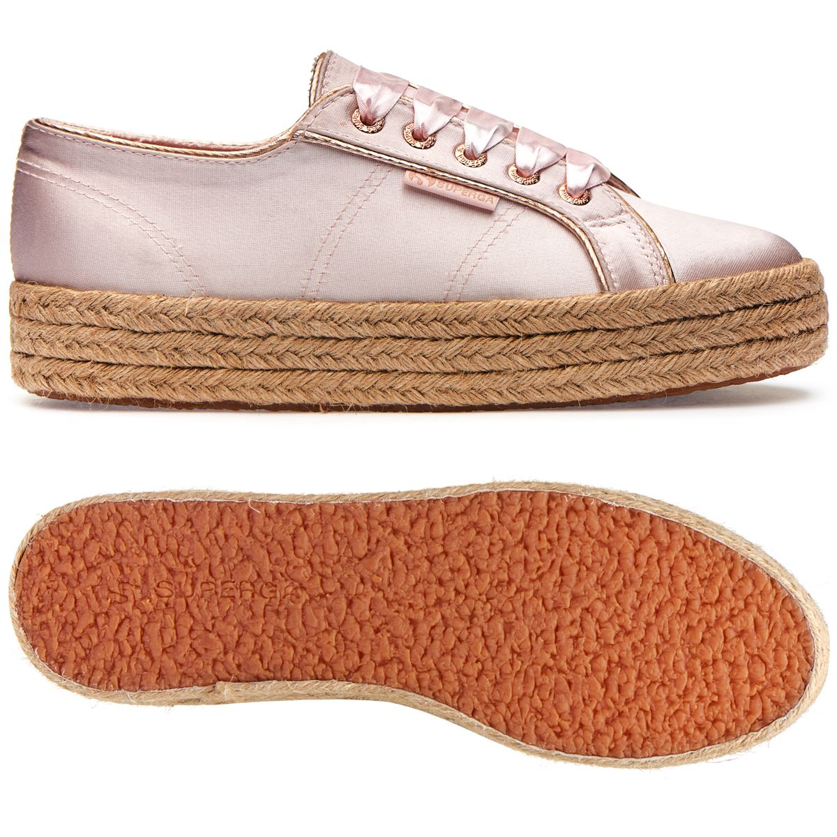 Superga Satincotmetropew Rose 2730