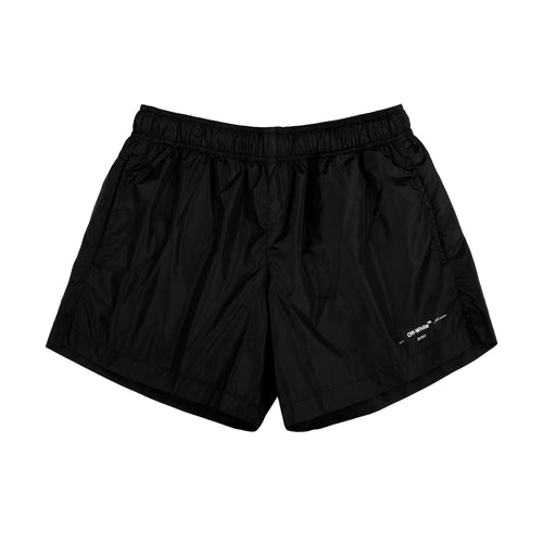 "Off-White ""Logo"" Swimshort Black"