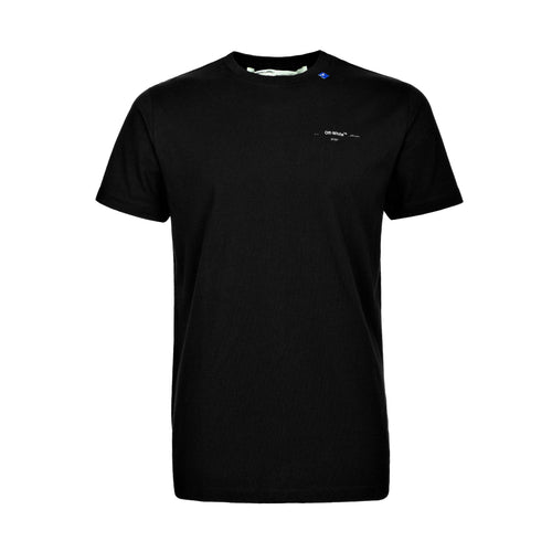 Off-White Unfinished S/S Slim Tee Black