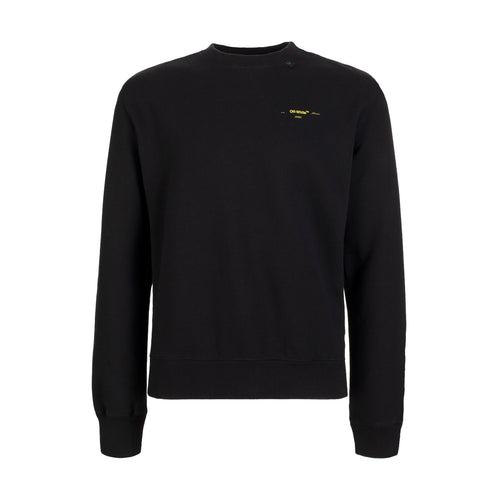 Off-White Acrylic Arrows Slim Crewneck Black Yellow