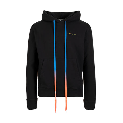 Off-White Acrylic Arrows Slim Hoodie Black Yellow