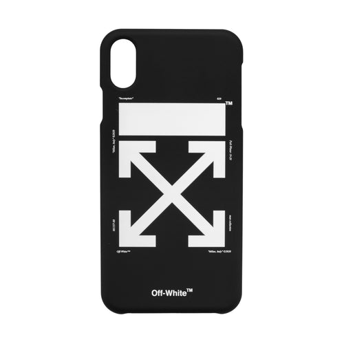 Off-White Arrow Iphone XS Max Cover Black White
