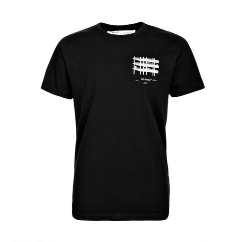 Off-White Industrial S/S Slim Tee Black