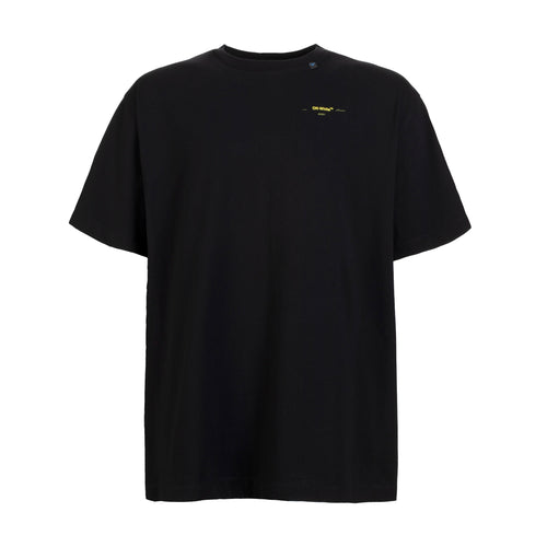 Off-White Acrylic Arrows S/S Over Tee Black Yellow