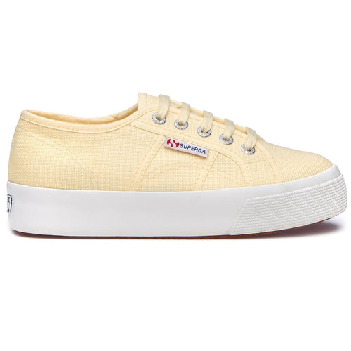 Superga Cotu 2730, Beige Double Cream Yellow